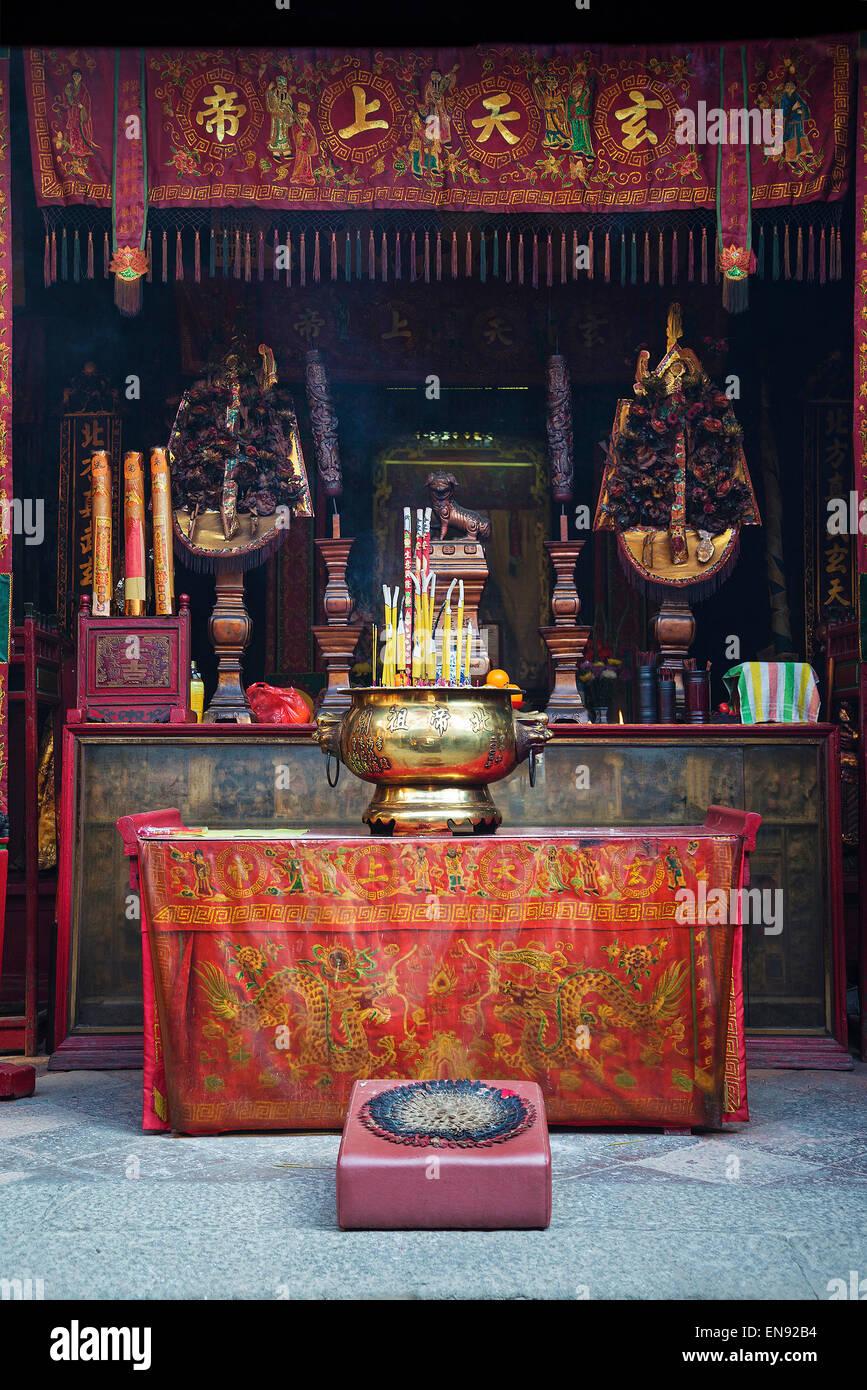 a-ma chinese temple landmark in macau china - Stock Image