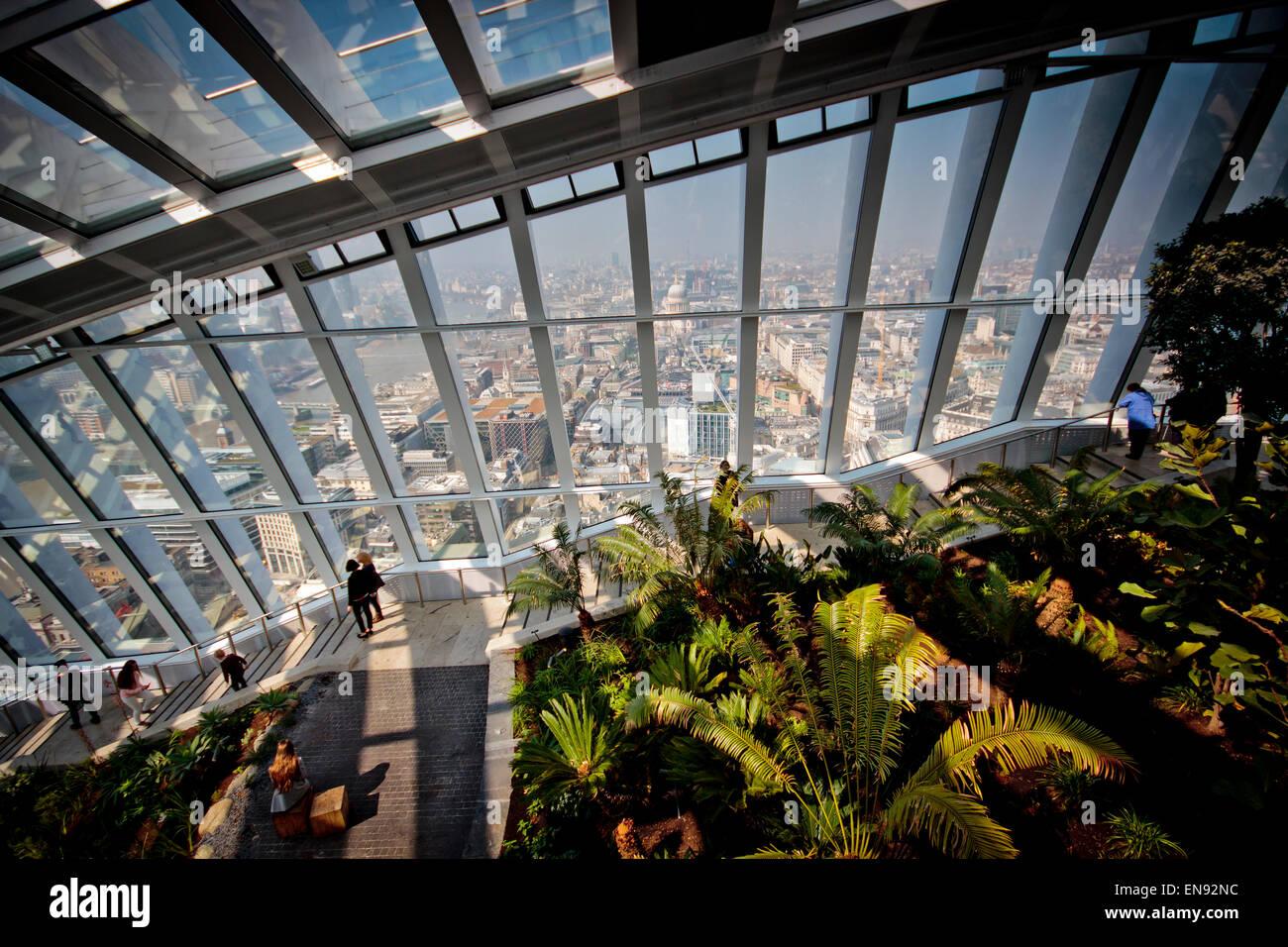Sky Garden, London, UK © Clarissa Debenham / Alamy - Stock Image