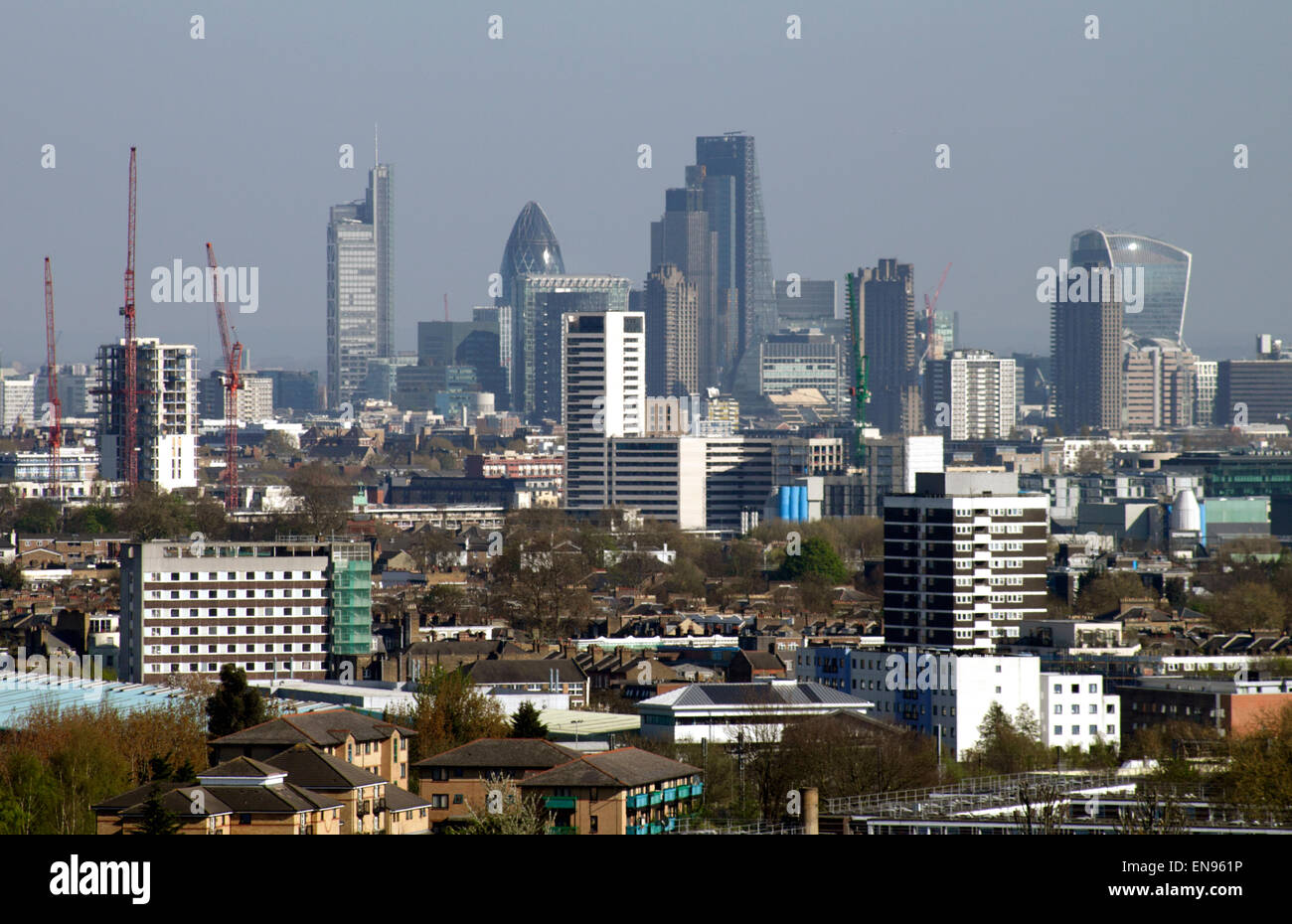 london skyline hampstead heath stock photos london. Black Bedroom Furniture Sets. Home Design Ideas