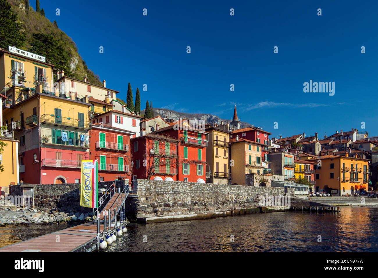 Varenna, Lake Como, Lombardy, Italy - Stock Image