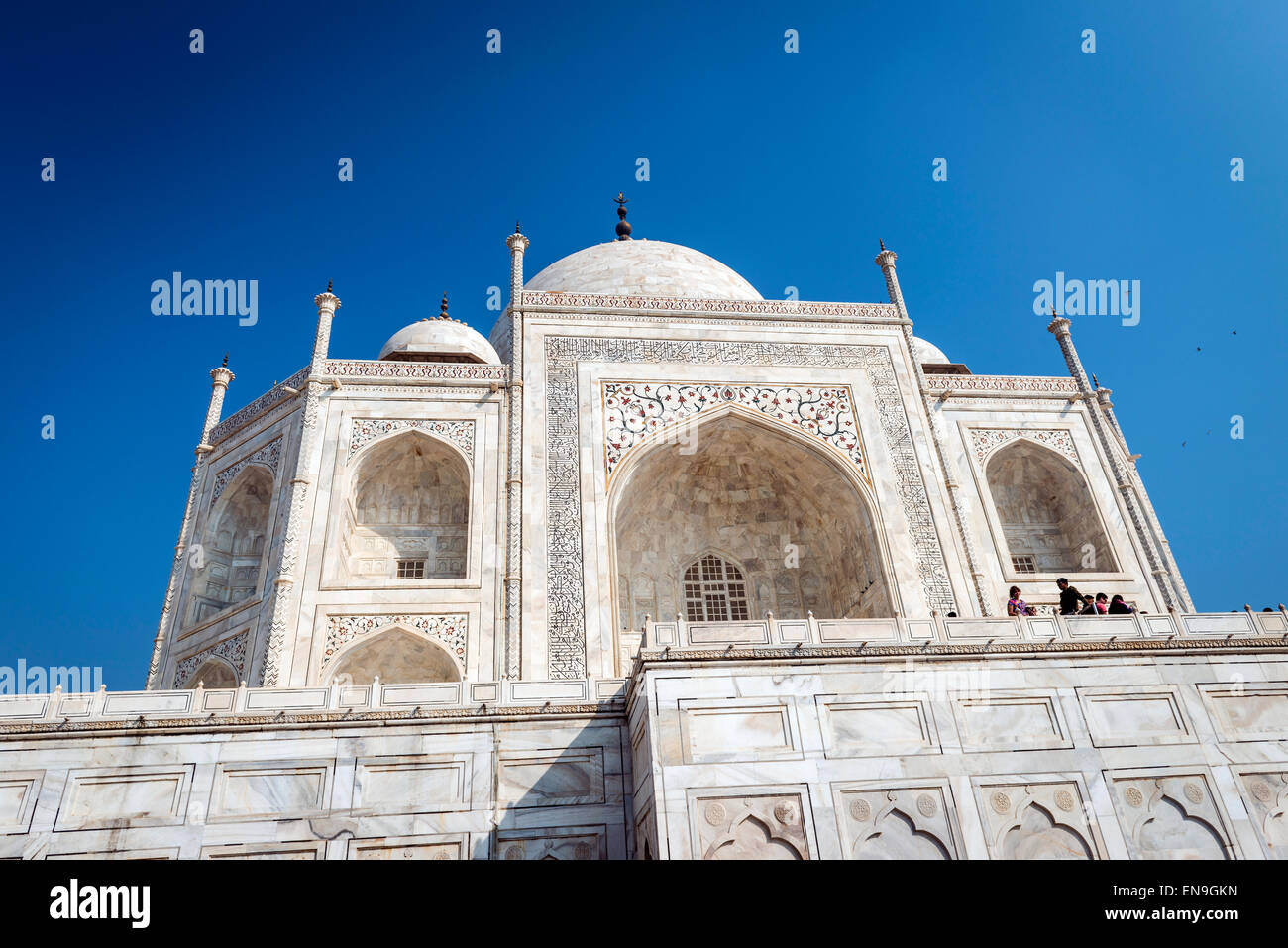 The Taj Mahal, Agra, India - Stock Image