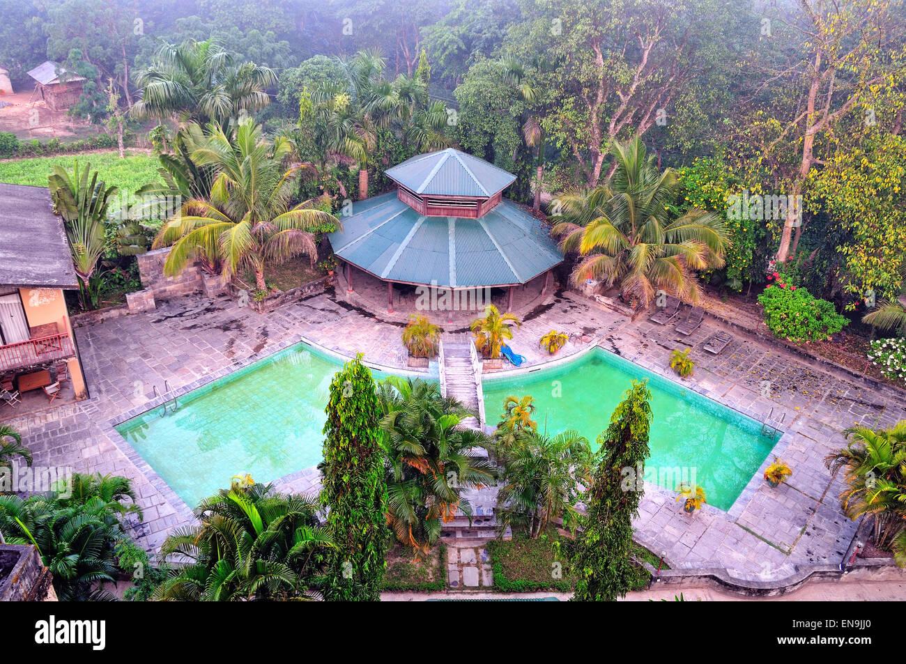 Safari Adventure Lodge, Chitwan, Nepal. - Stock Image