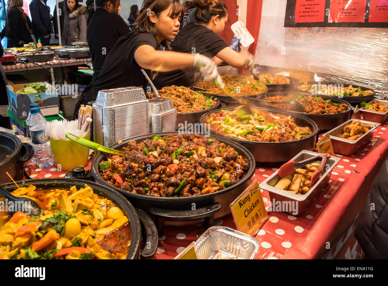 Food Market In East London