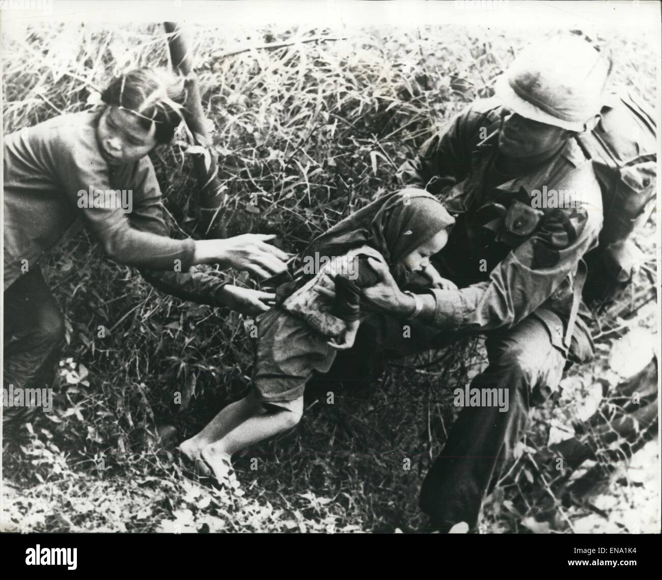 File. 30th Apr, 2015. The Vietnam War, also known as the Second Indochina War, and also known in Vietnam as Resistance Stock Photo