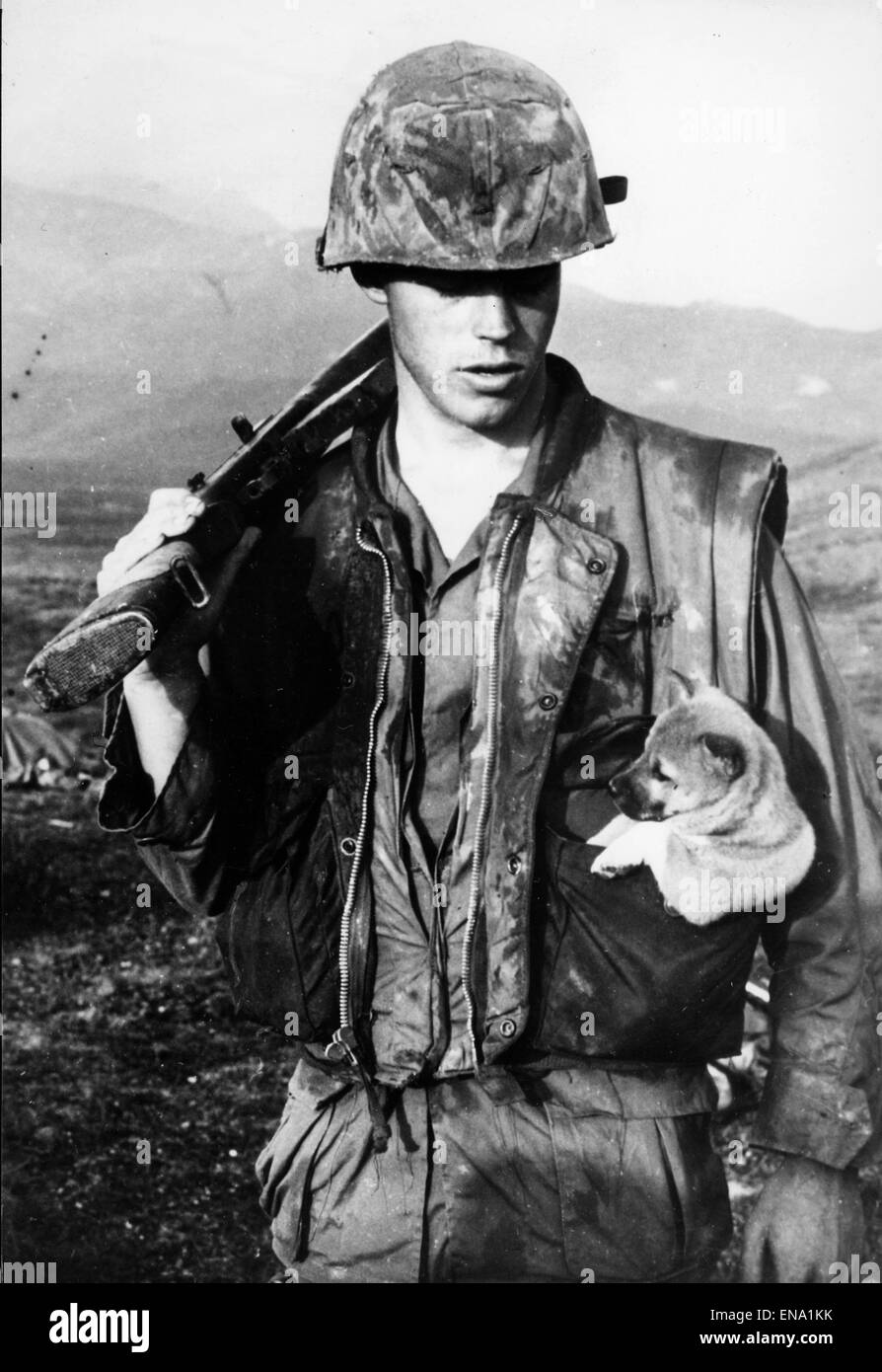 File. 30th Apr, 2015. The Vietnam War, also known as the Second Indochina War, and also known in Vietnam as Resistance - Stock Image