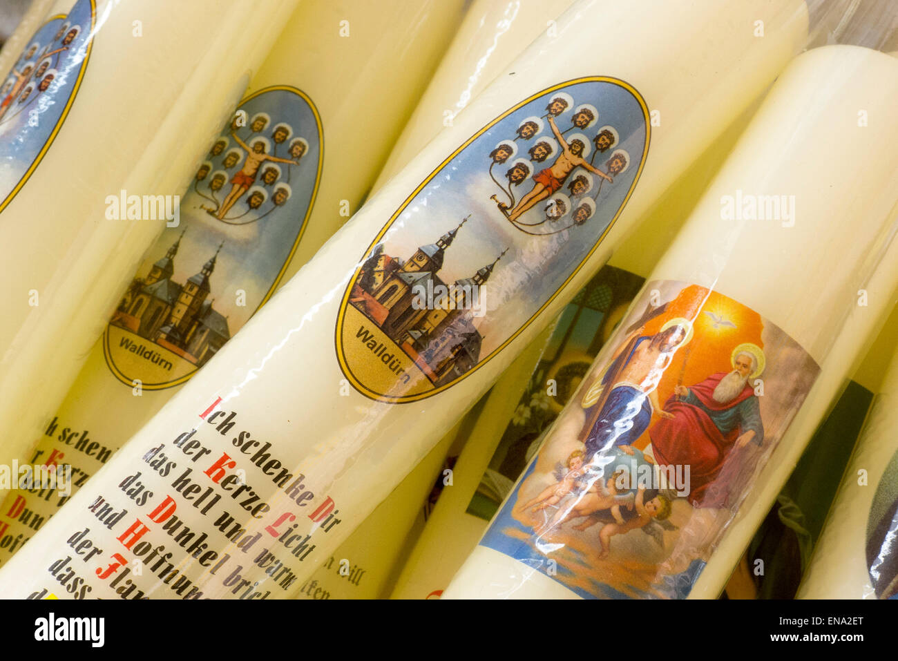 Devotional, pilgrimage, Walldürn, Odenwald, Baden-Württemberg, Germany - Stock Image