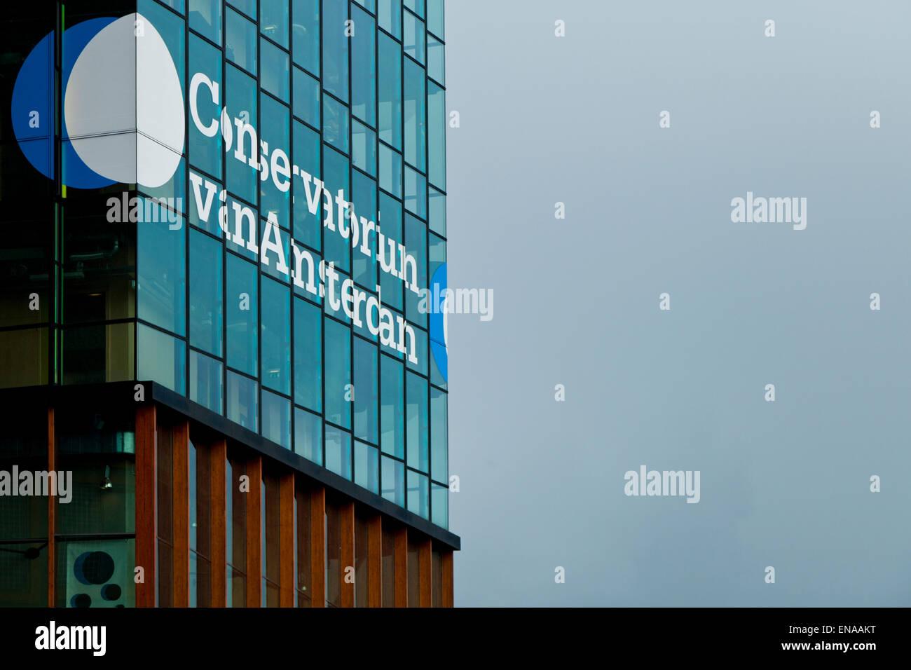 the Conservatorium van Amsterdam building Stock Photo