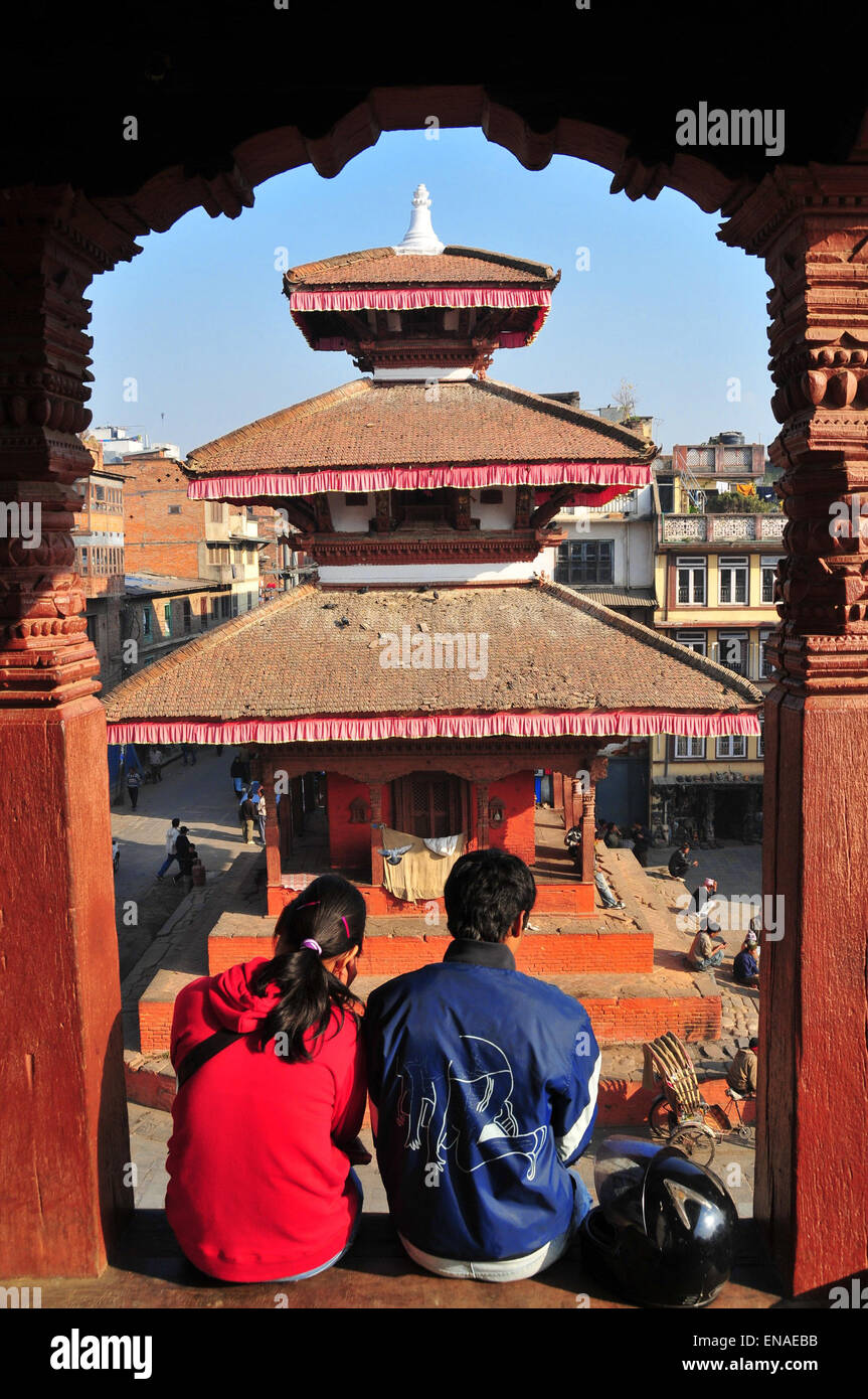 Visitors come to Nepal for the nature, the culture, and perhaps the food, but another reason to visit this Himalayan - Stock Image