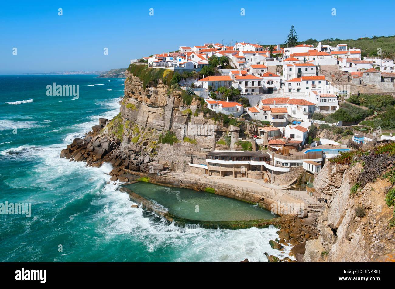 a16bca41734a9 Natural pool, Azenhas do Mar, Lisbon Coast, Portugal Natürlicher Pool,  Azenhas do Mar, Lissabon Küste, Portugal