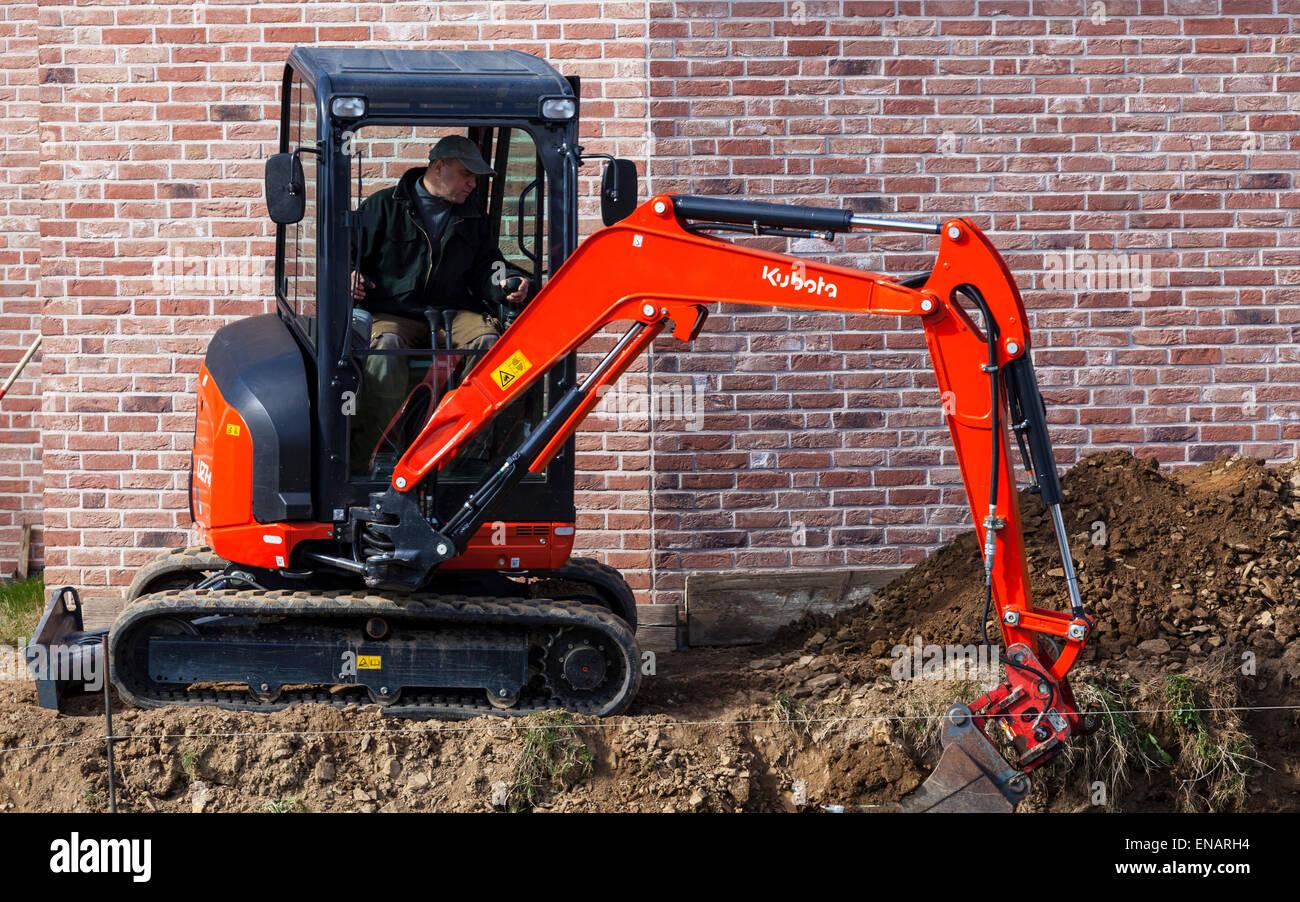 Mechanical digger Stock Photo
