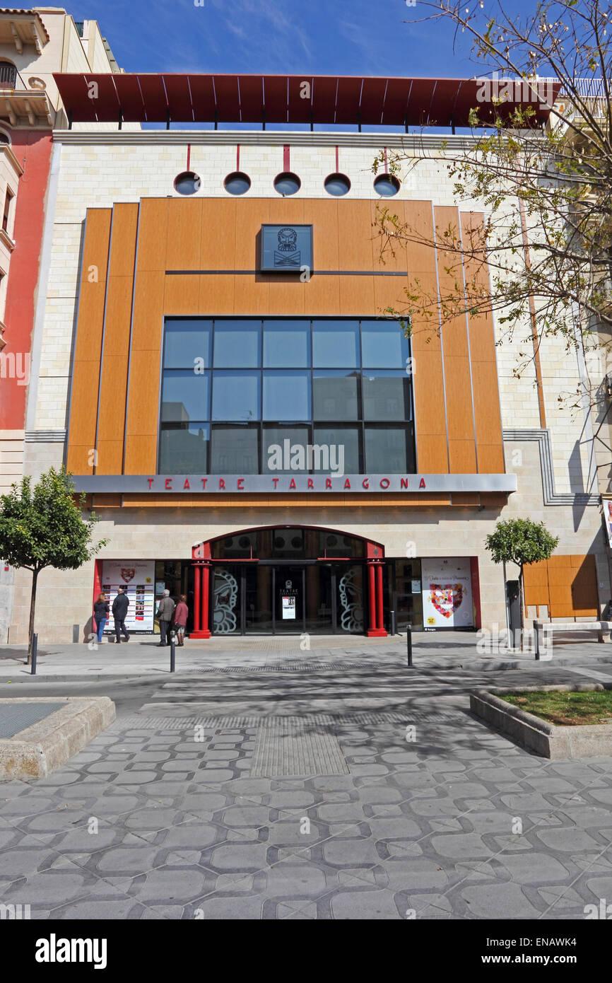 Teatre Tarragona, on Rambla Nova, Tarragona - Stock Image