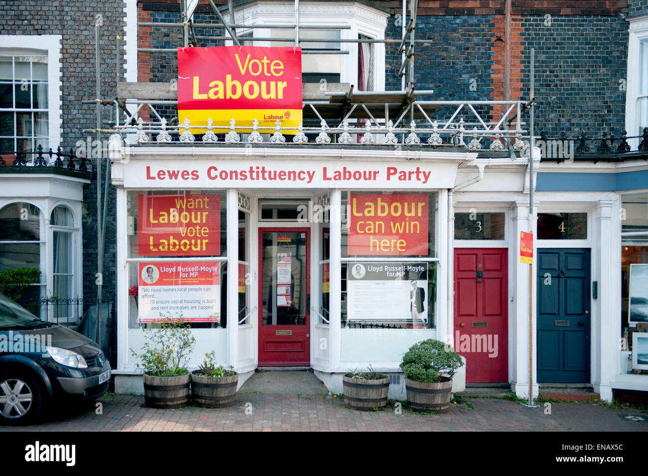 Constituency Labour Party offices in Lewes, UK - Stock Image