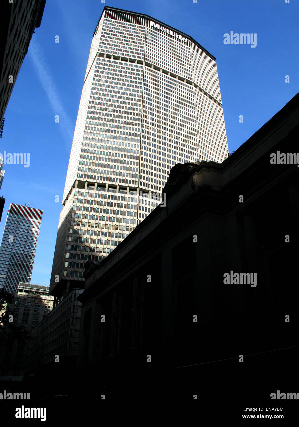 Formerly Pan Am Building High Resolution Stock Photography and ...