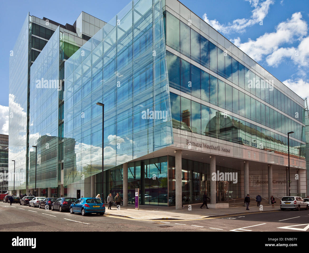Bernard Weatherill House,Croydon Council offices. - Stock Image