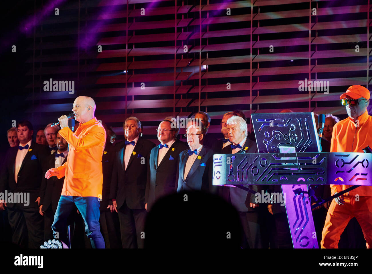 Pet Shop Boys at Festival No.6, Portmeirion, Wales. UK - Stock Image