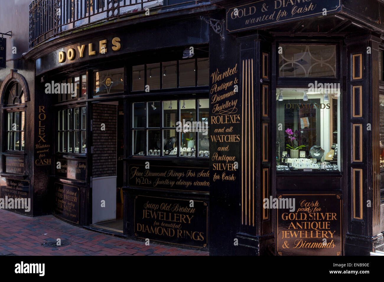 Doyles antique jewellery shop in the lanes brighton sussex uk doyles antique jewellery shop in the lanes brighton sussex uk aloadofball Choice Image