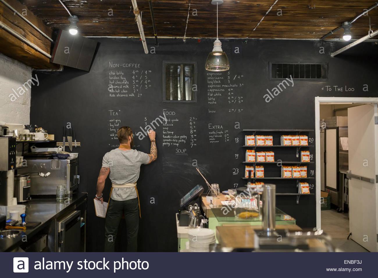 Cafe Menu Blackboards