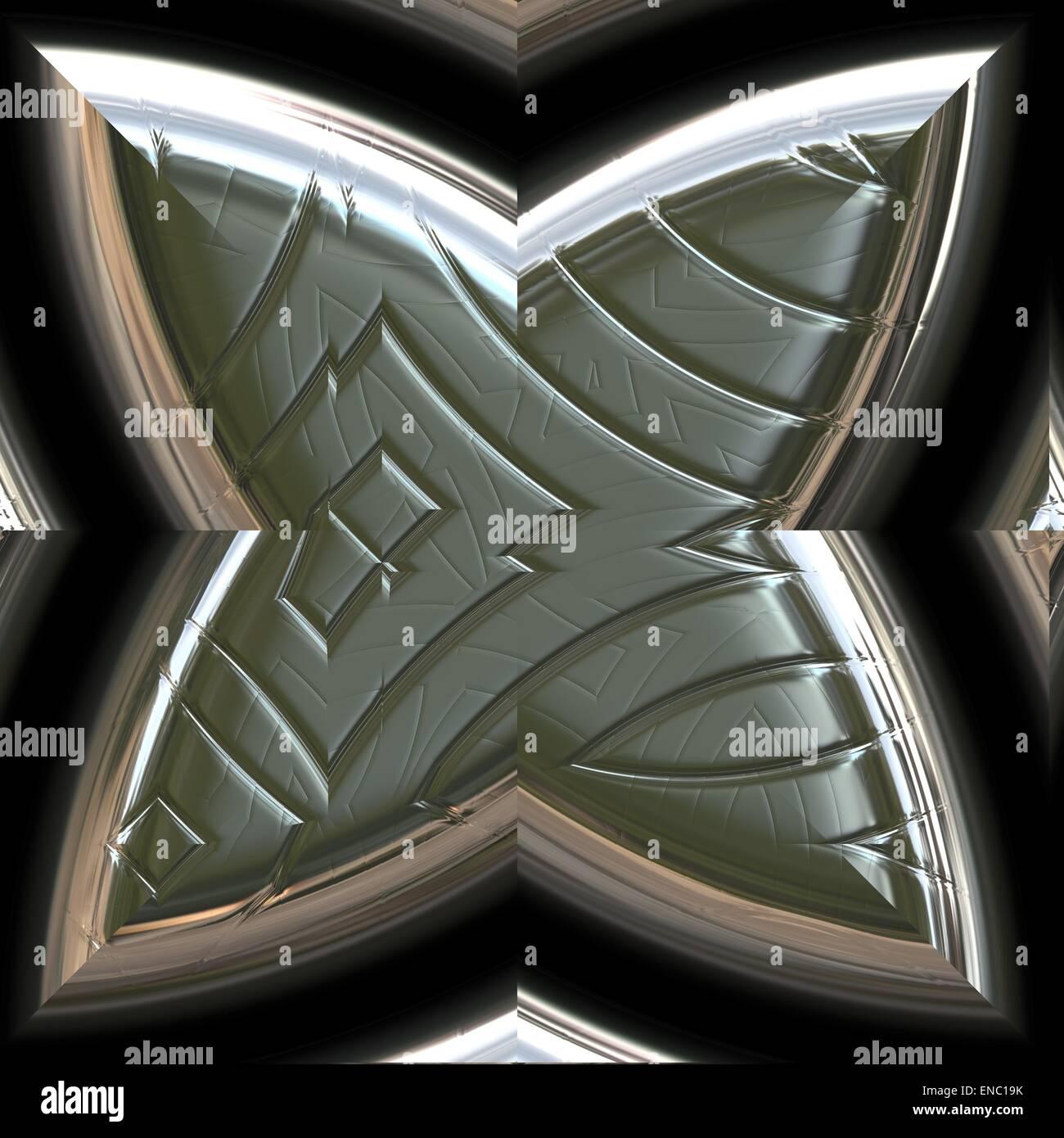 Seamless Sci-Fi background - Stock Image