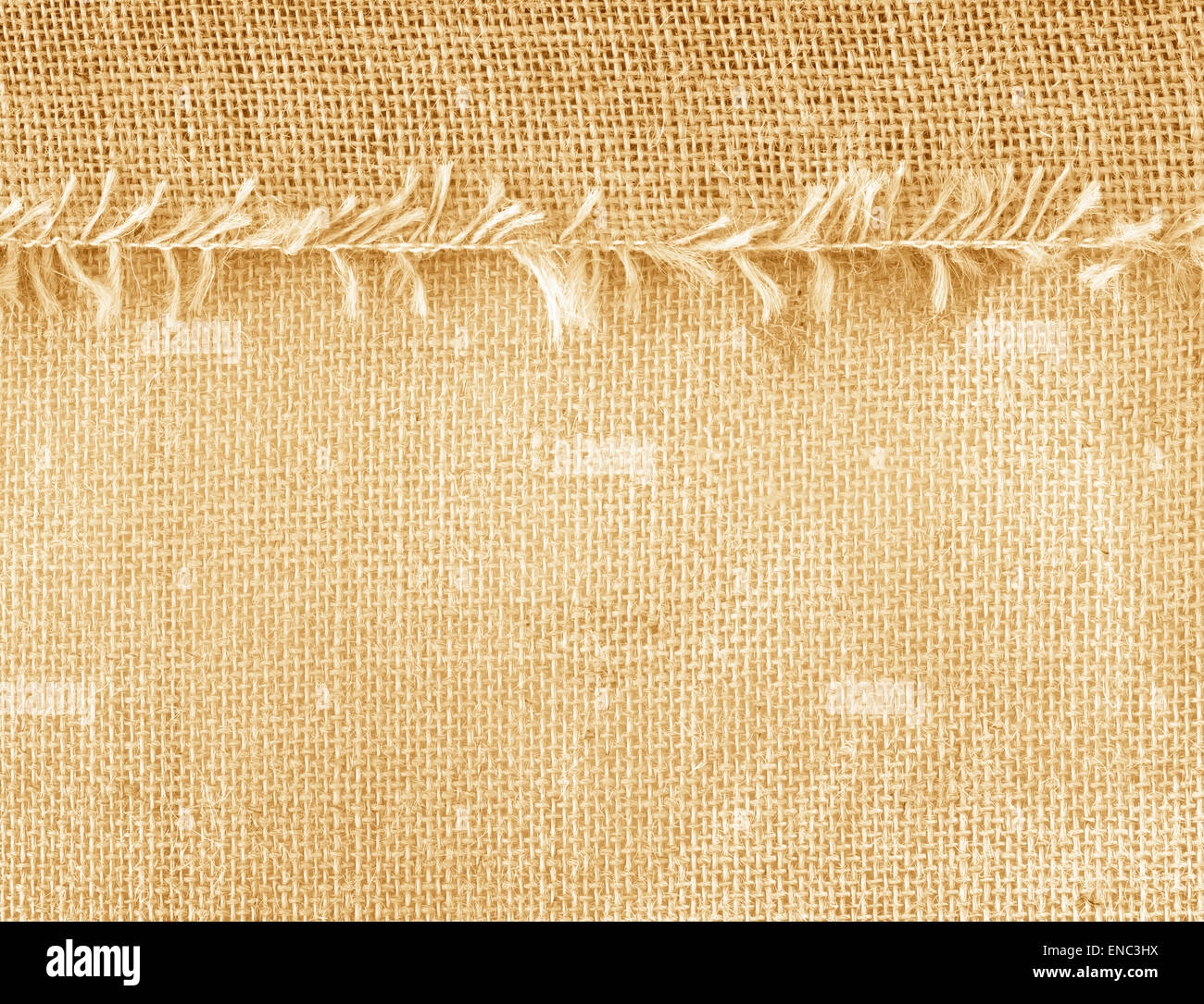 Textile Sacks brown abstract pattern background texture. - Stock Image