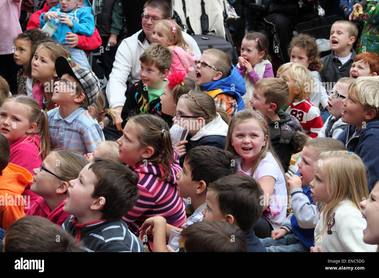 Children Watching Performance Stock Photos Amp Children
