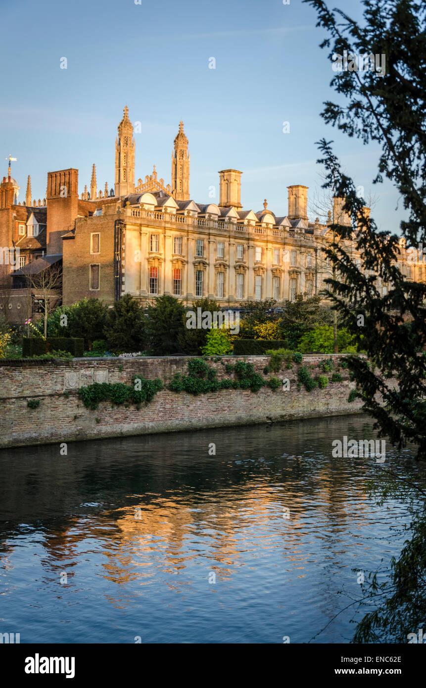 Clare College, Cambridge - Stock Image