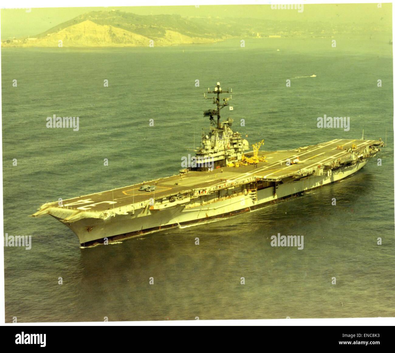 USS Oriskany (CV-34) off Point Loma Stock Photo: 82019479