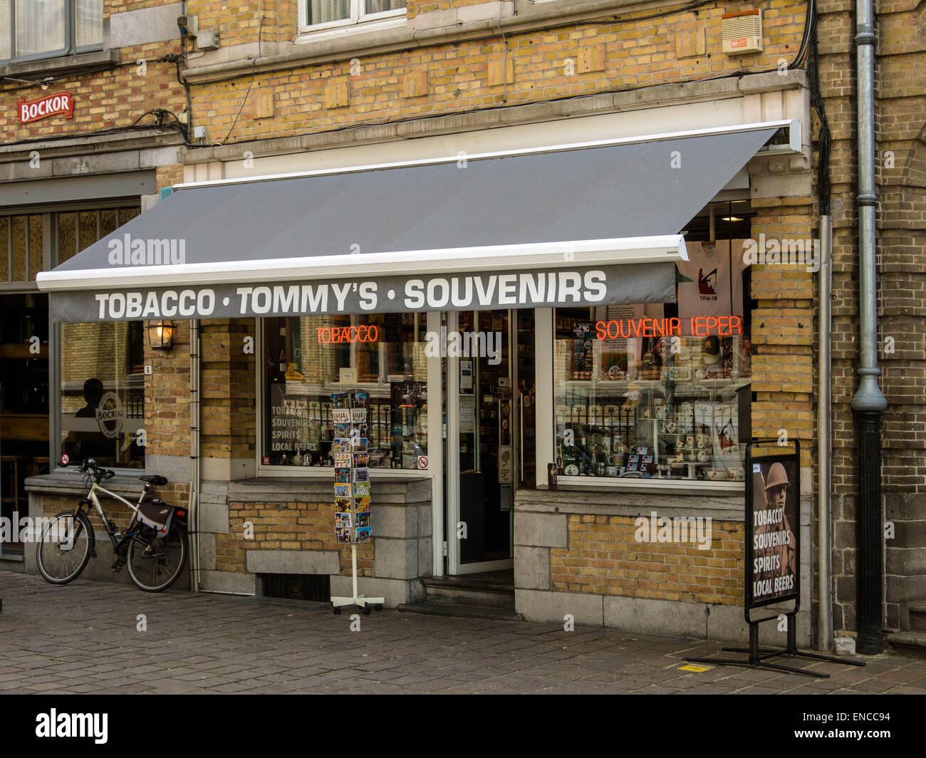 6d09b0e5b38ad Tommy s Souvenir shop in Ypres Town