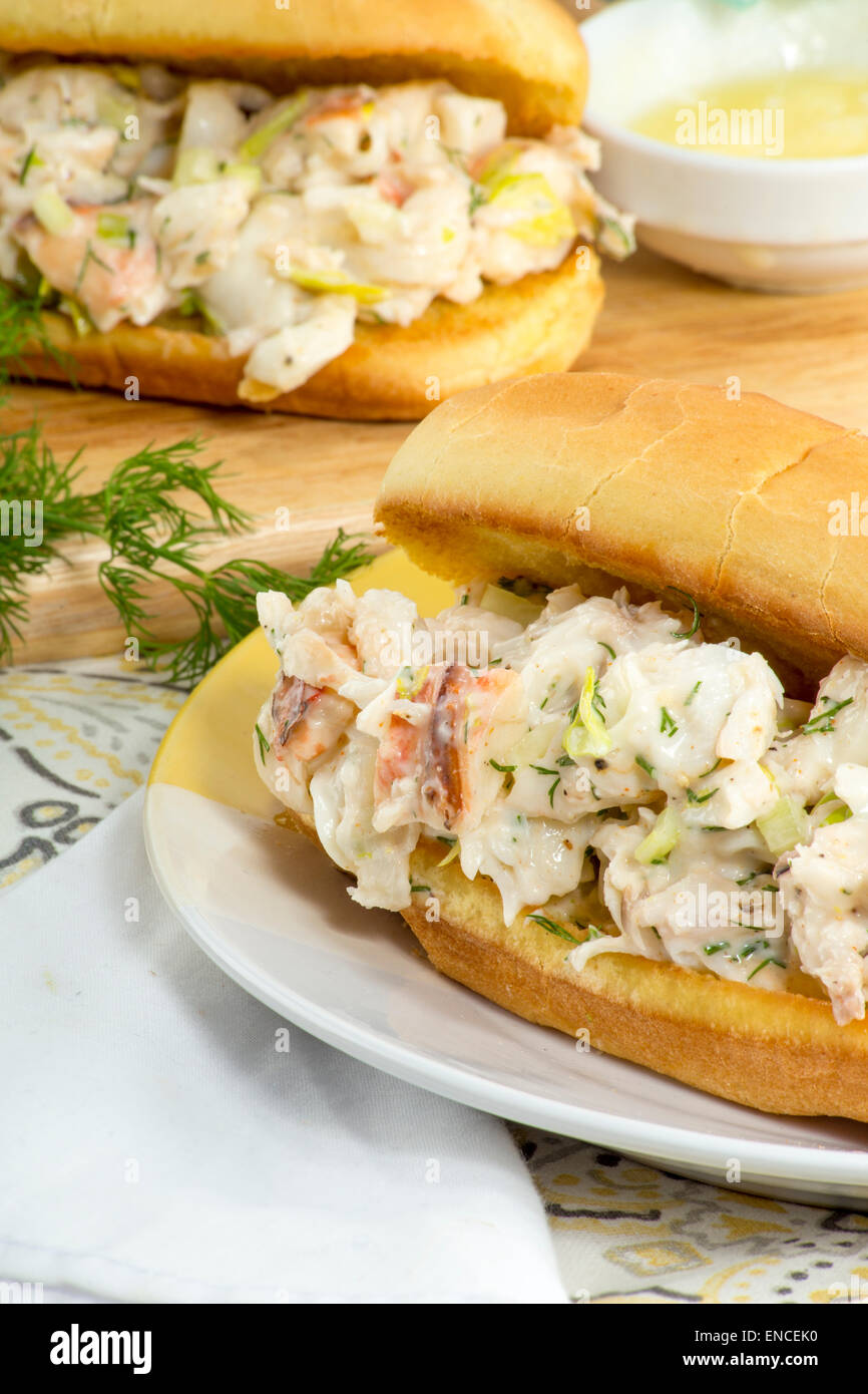 Lobster rolls - Stock Image