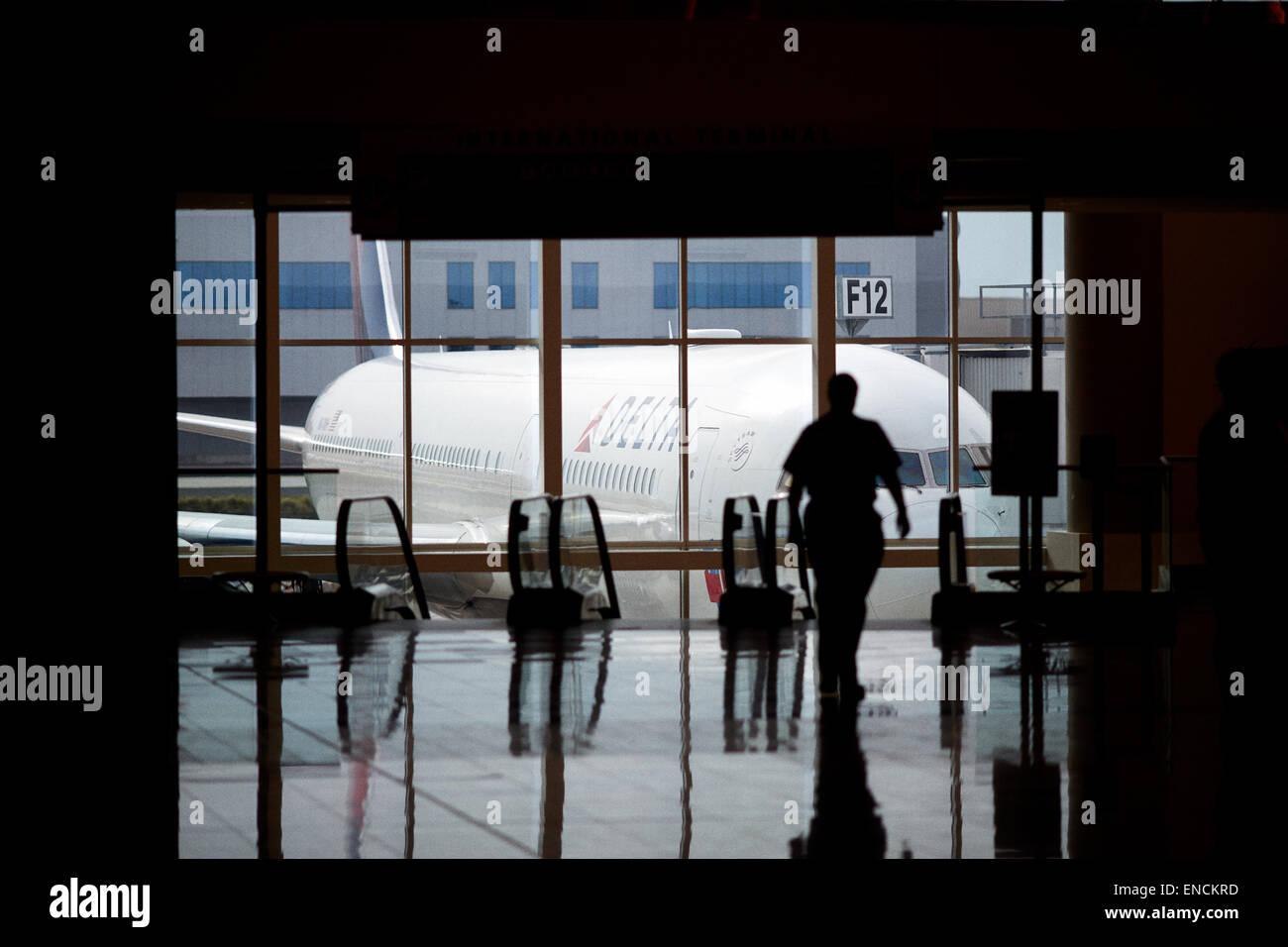 Atlanta in Georgia USA Hartsfield–Jackson Atlanta International Airport known locally as Atlanta Airport, Hartsfield, - Stock Image