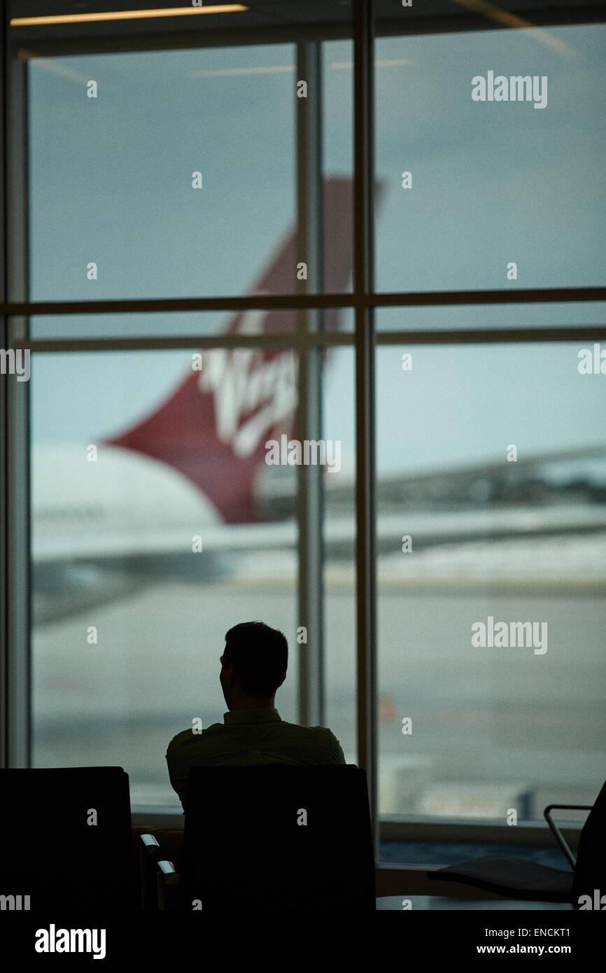 Atlanta in Georgia USA Hartsfield–Jackson Atlanta International Airport known locally as Atlanta Airport, Hartsfield, Stock Photo