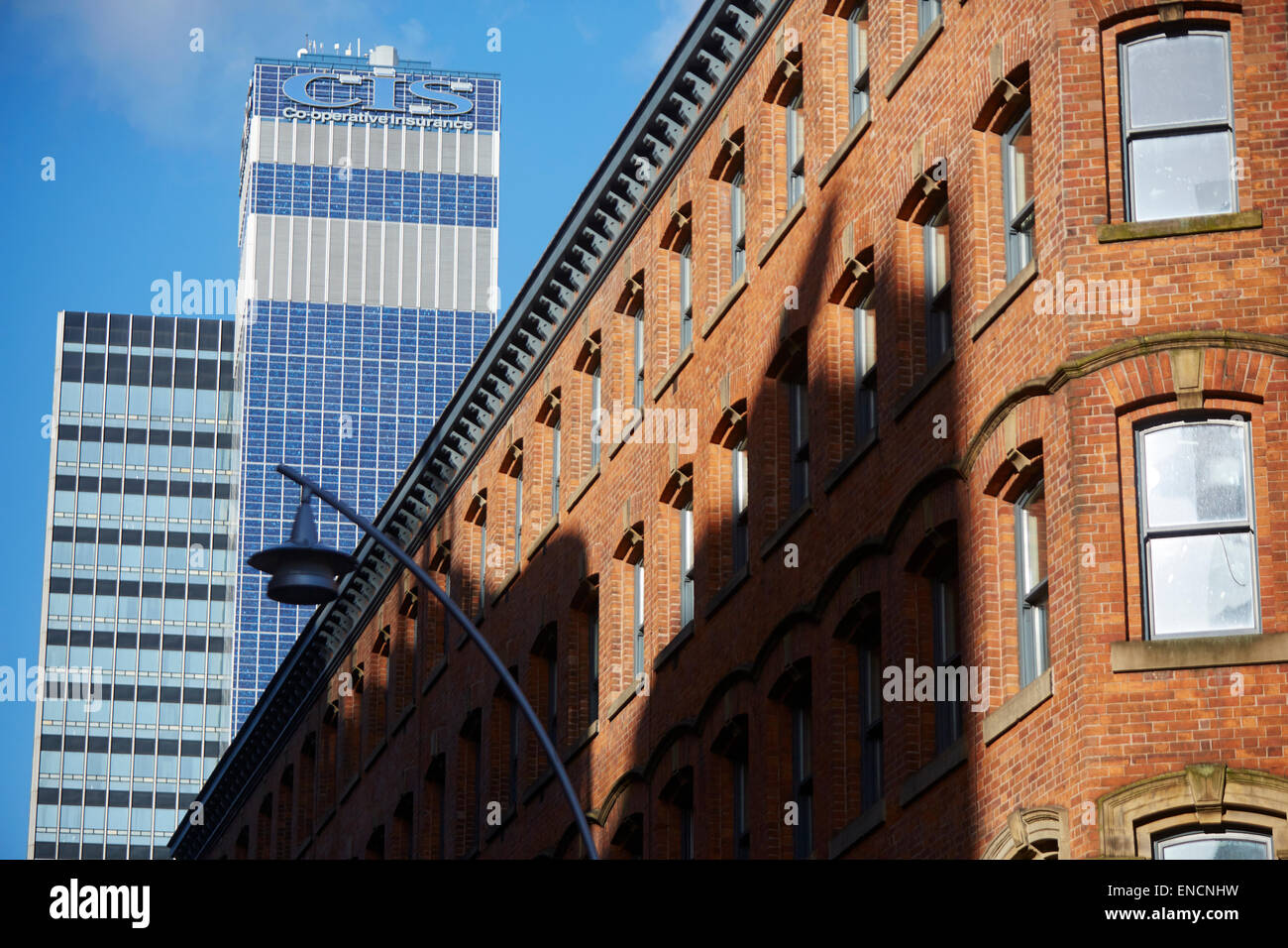 CIS tower Co-operative insurance offices - Stock Image