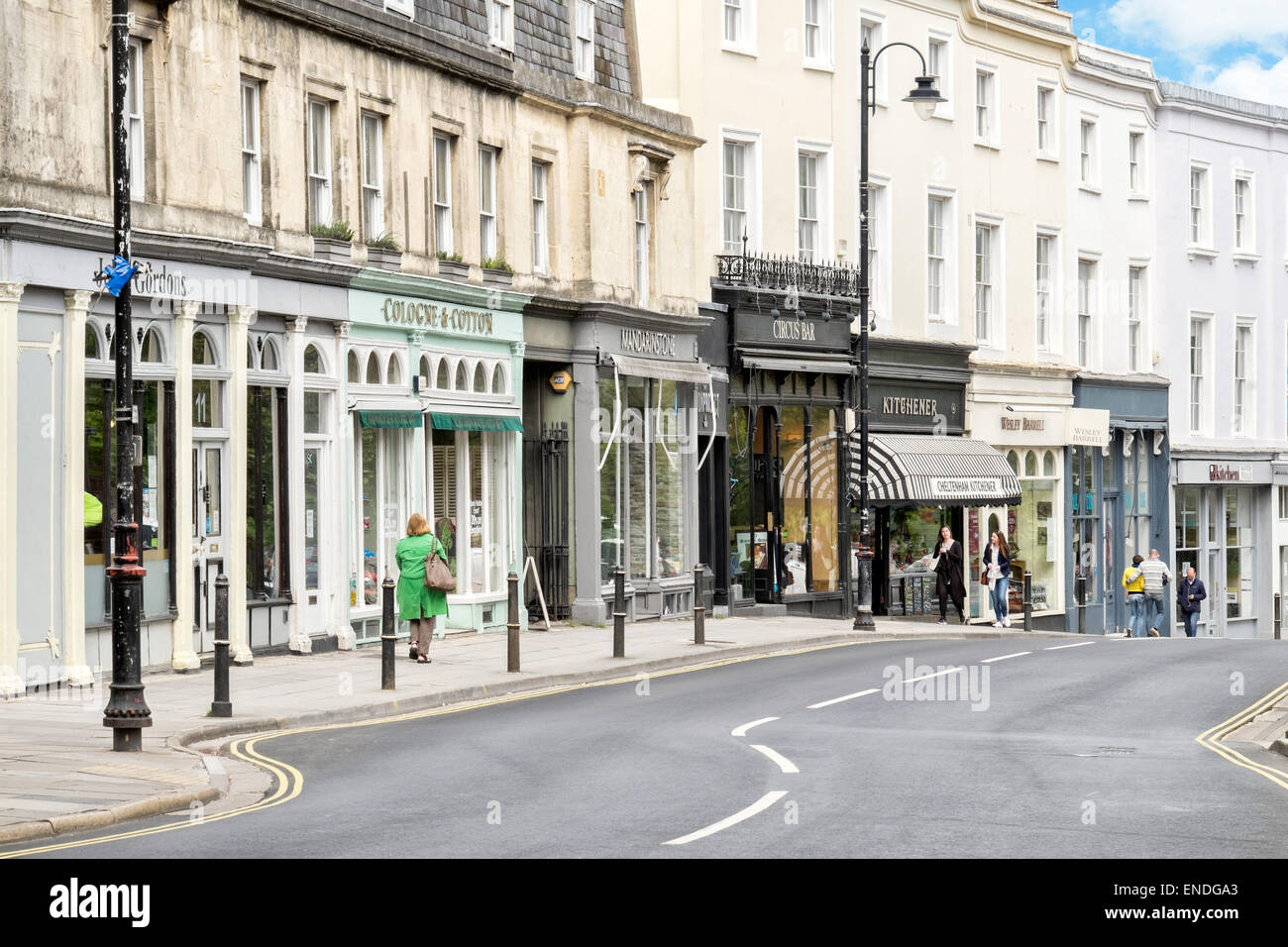 shops street at montpellier walk montpellier cheltenham stock photo 82047451 alamy. Black Bedroom Furniture Sets. Home Design Ideas
