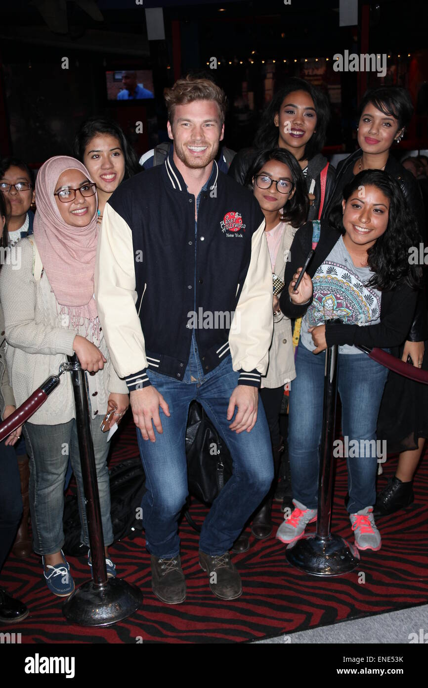 Derek theler star of abc familys baby daddy at a meet and greet derek theler star of abc familys baby daddy at a meet and greet with fans at planet hollywood times square featuring derek thelerwith his fans where m4hsunfo