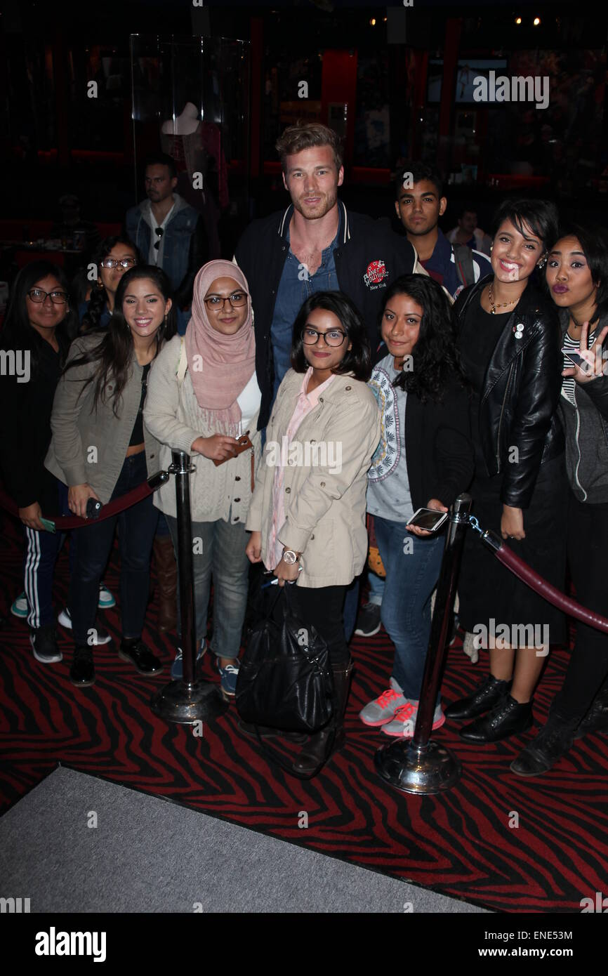 Derek theler stock photos derek theler stock images page 2 alamy derek theler star of abc familys baby daddy at a meet and greet with m4hsunfo