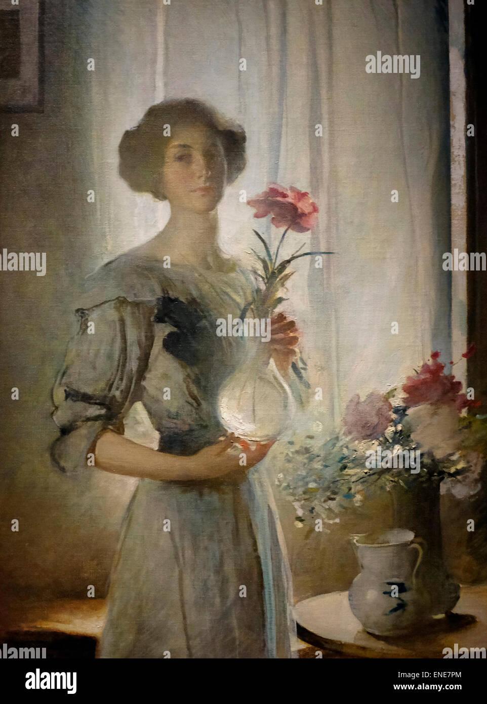 June 1911  John White Alexander - Stock Image
