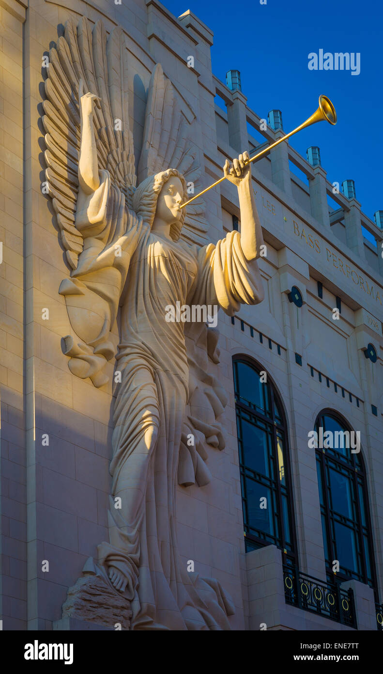 The Nancy Lee and Perry R. Bass Performance Hall in Fort Worth, Texas is located in downtown Fort Worth near Sundance - Stock Image