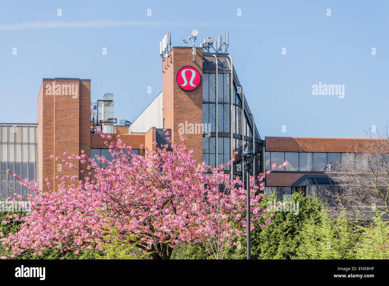 3b38155f08c Lululemon Athletica Headquarters, Vancouver, British Columbia, Canada -  Stock Image