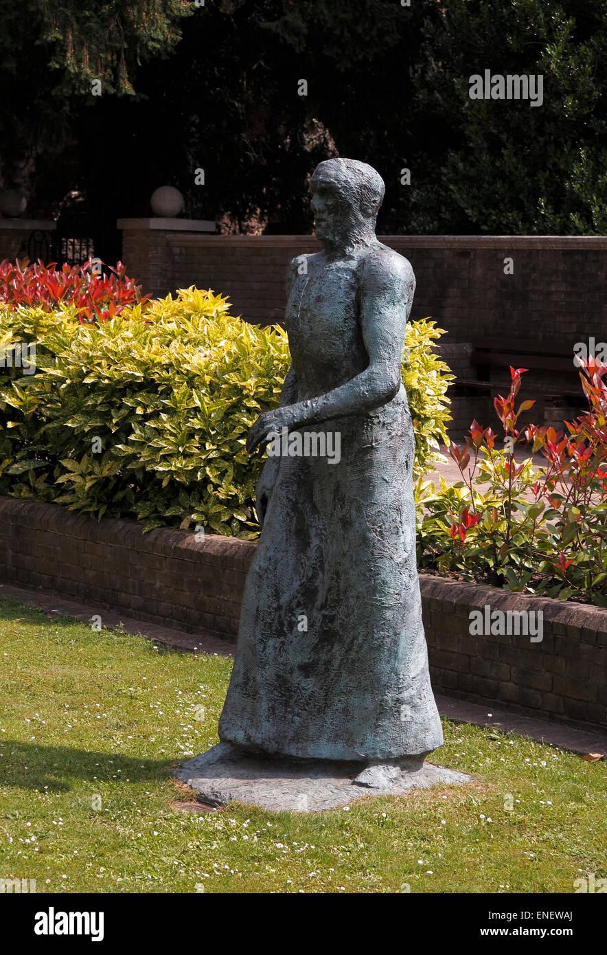 Elizabeth Frink sculpture Forbury Gardens Reading Berkshire England UK Stock Photo