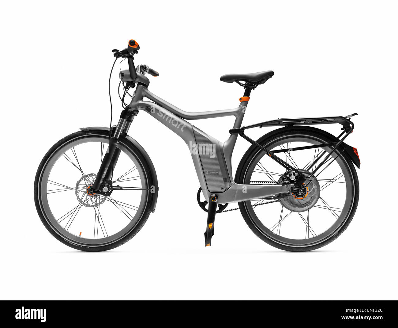 electric bicycle smart ebike isolated on white. Black Bedroom Furniture Sets. Home Design Ideas