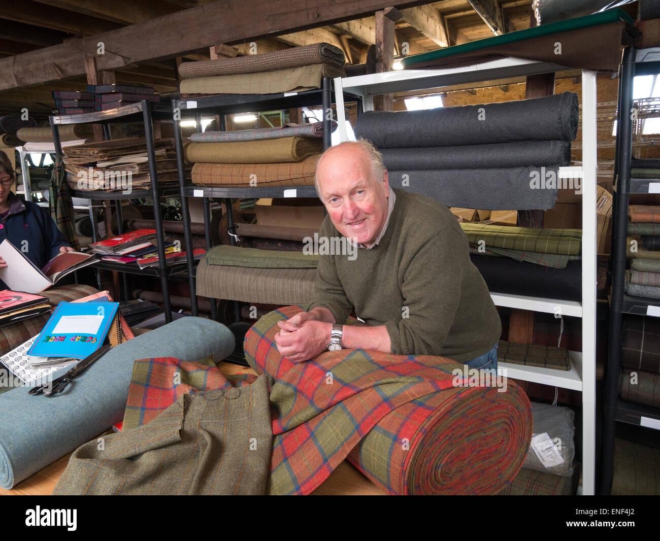 Gordon Covell, Islay Woollen Mill Scotland Stock Photo