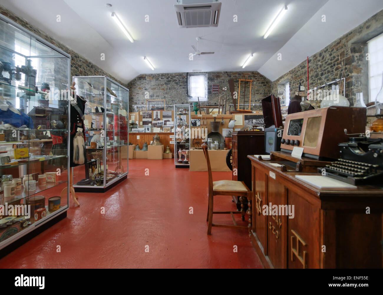 The Museum of Islay Life Port Charlotte Scotland Stock Photo