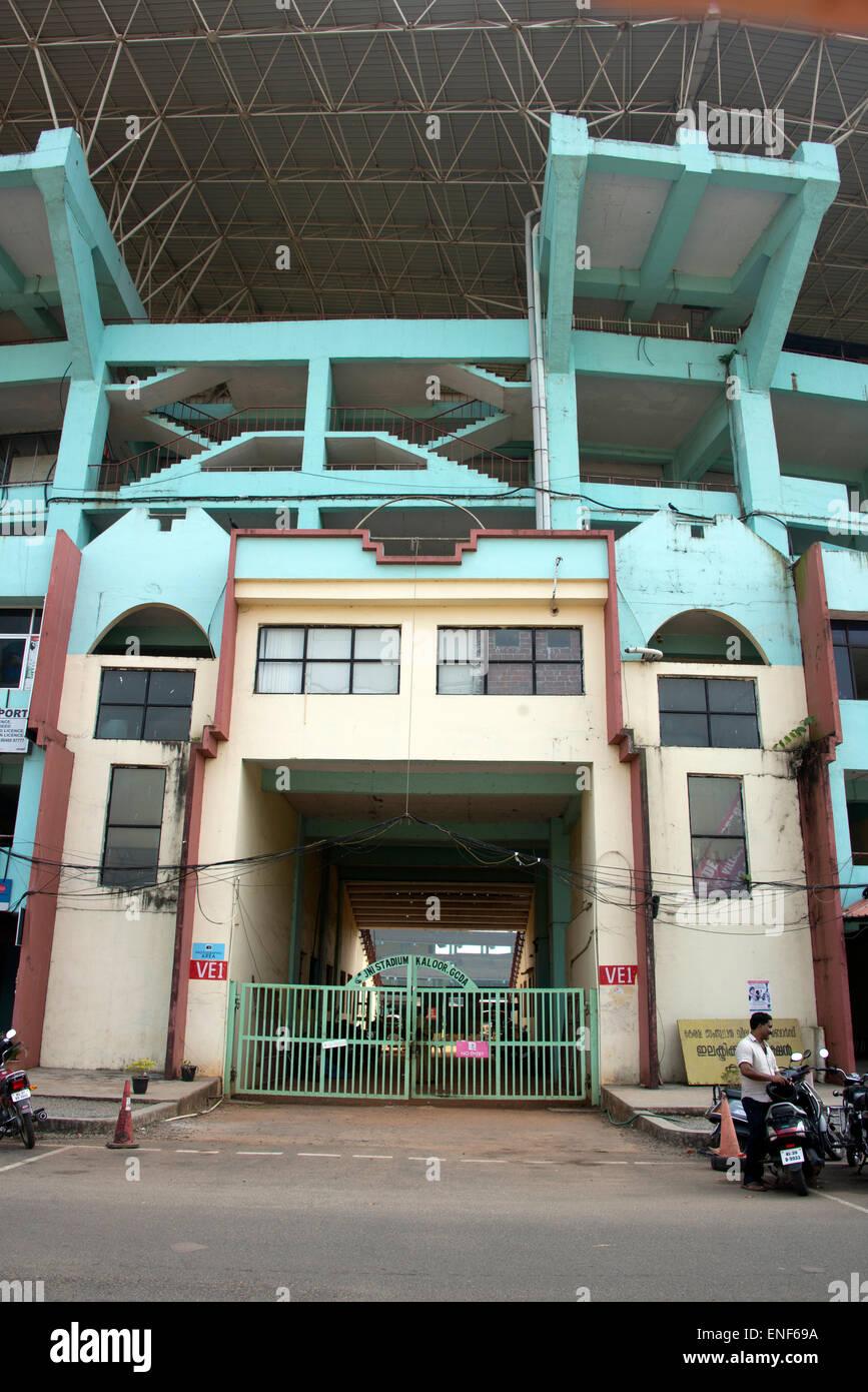 Jawaharlal Nehru International Stadium is a multipurpose international stadium situated in Kochi, Kerala. The stadium - Stock Image