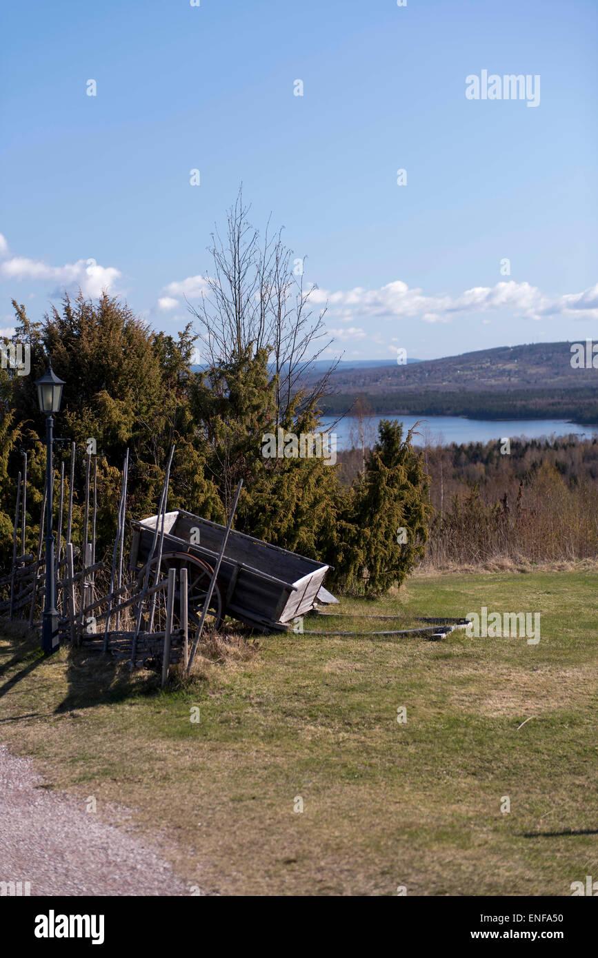 Dalarna, sweden, Siljan,lake, - Stock Image