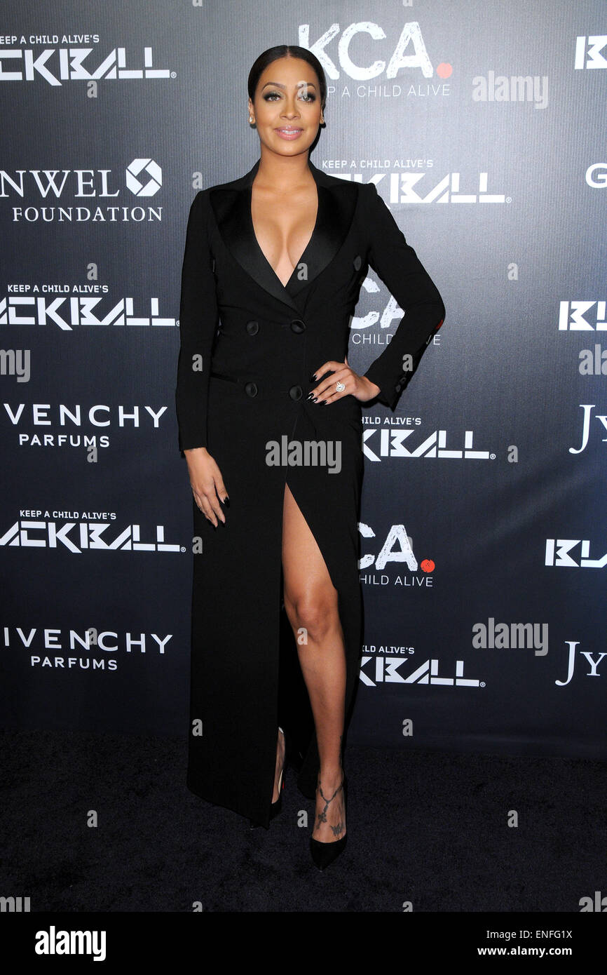 Keep A Child Alive's 11th Annual Black Ball at Hammerstein Ballroom - Arrivals  Featuring: Lala Anthony Where: New Stock Photo