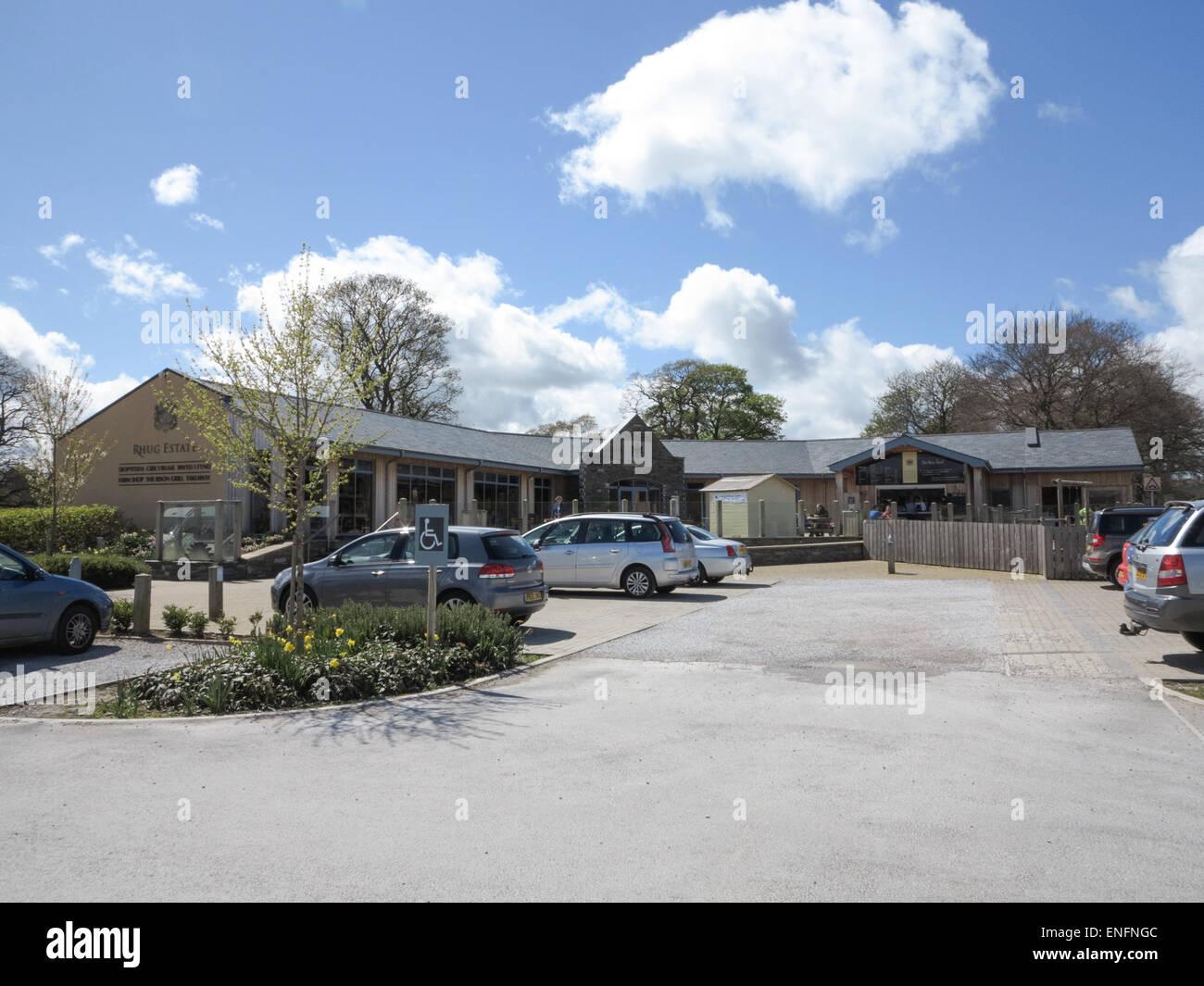Rhug Estate Farm Shop and Takeaway - Stock Image