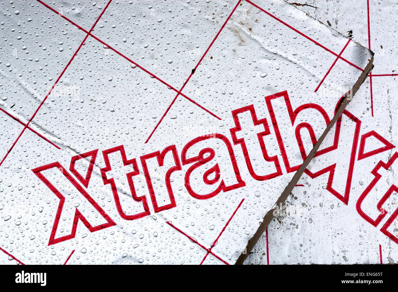Xtratherm Insulation - More than insulation Xtratherm manufactures a wide range of high performance insulation boards, - Stock Image