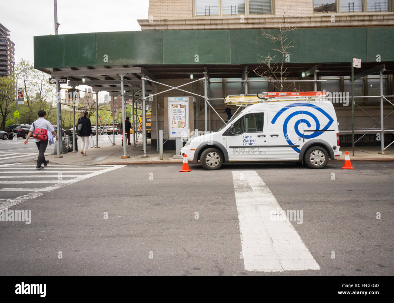 Awesome A Time Warner Cable Van In The Chelsea Neighborhood Of New York On  Thursday, April
