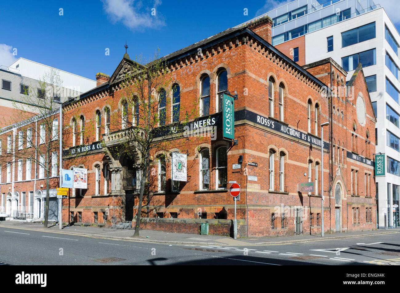 Ross's Antique Auctioneers, Belfast - Stock Image