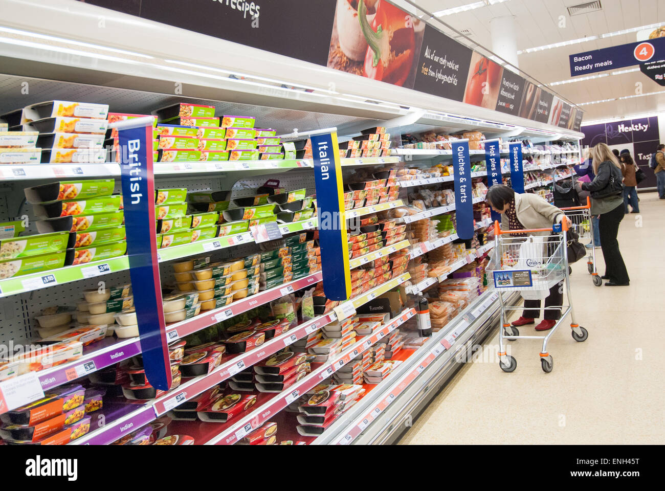 Supermarket Sainsburys Shelves Stock Photos & Supermarket ...
