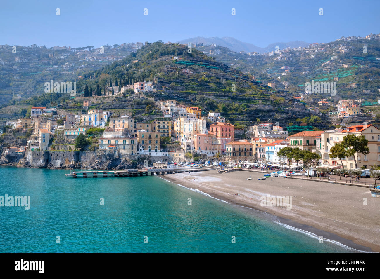 Minori, Amalfi Coast, Campania...